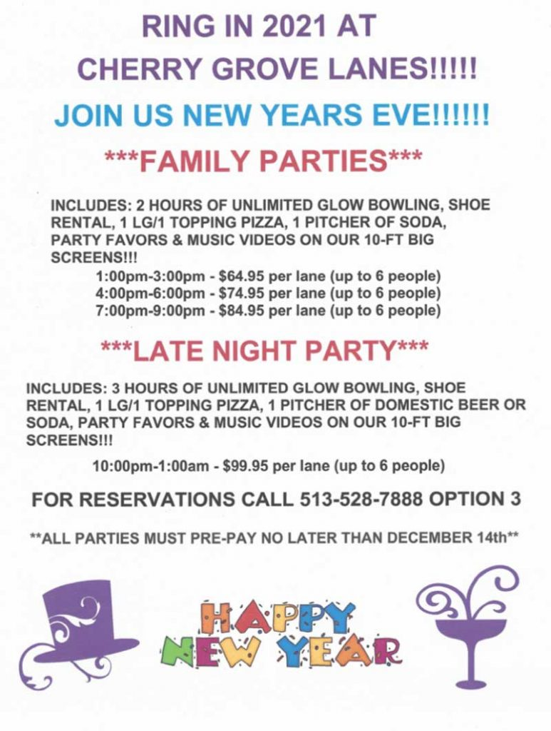 New Years Parties